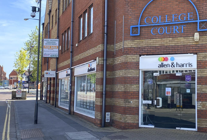 Town centre property sold for £1.2 million
