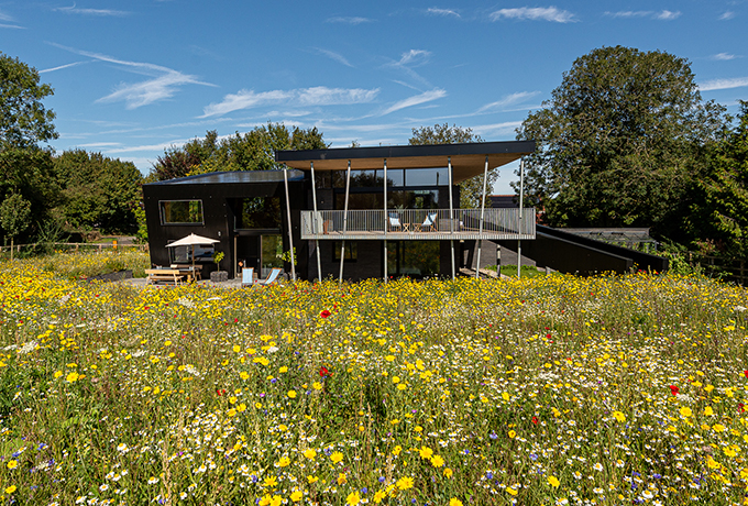 Striking new home built next to Barbury Castle
