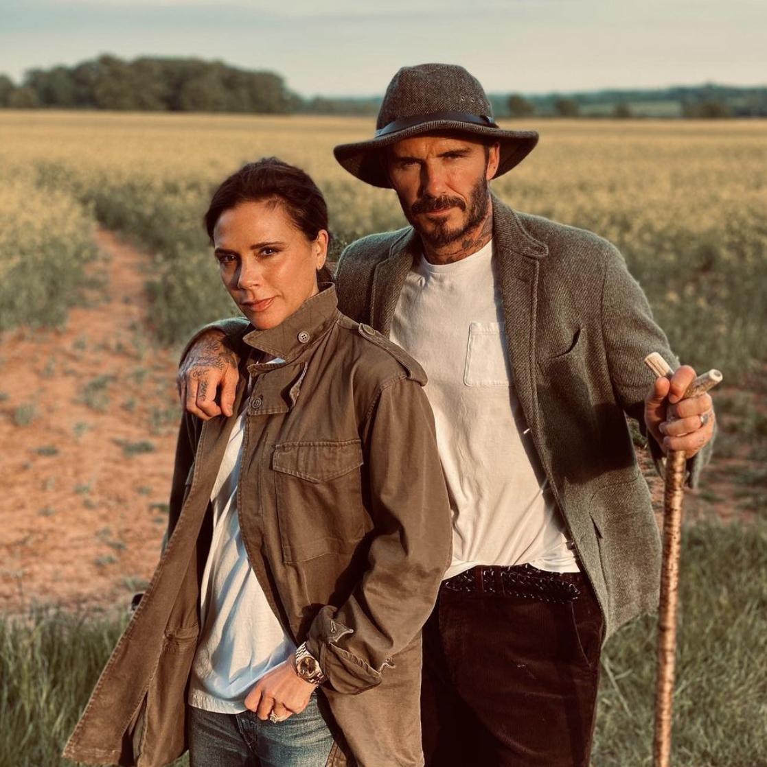 David and Victoria Beckham Insta