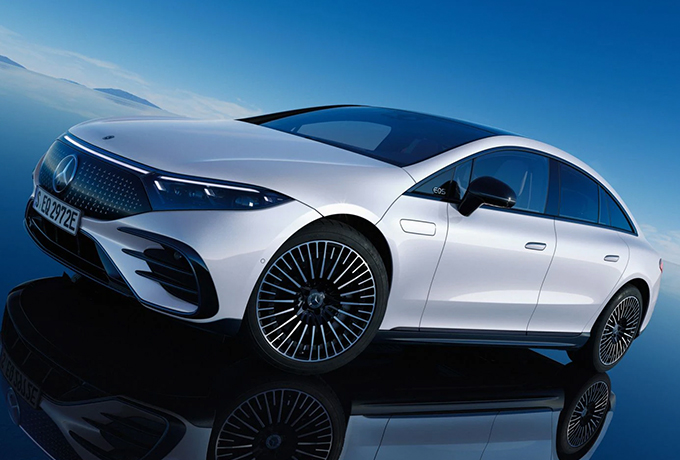 Mercedes' new electric saloon unveiled