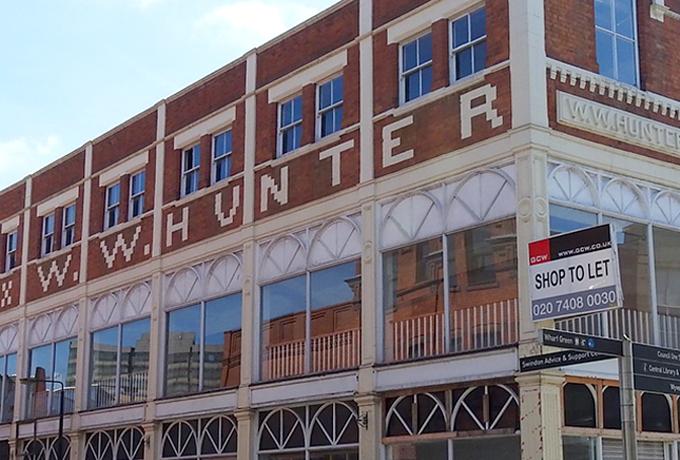 Landmark Swindon retail building sold for residential conversion