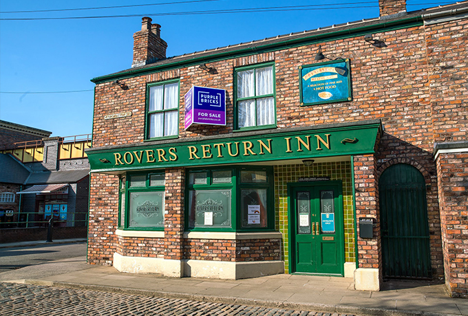 What A Corrie On! Purplebricks to sell the Rovers Return