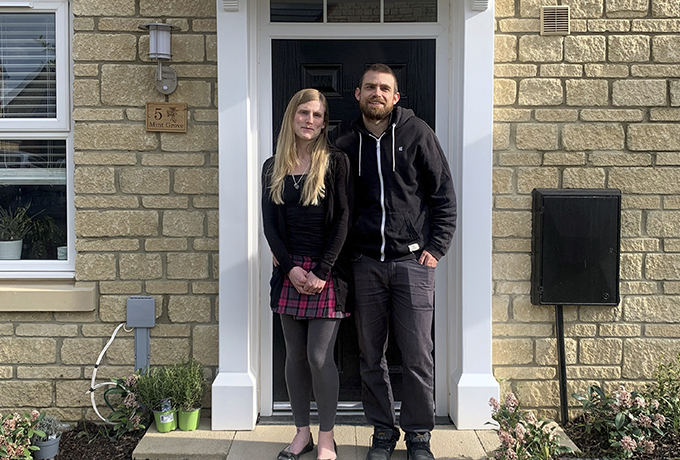First residents move into new Wiltshire housing development