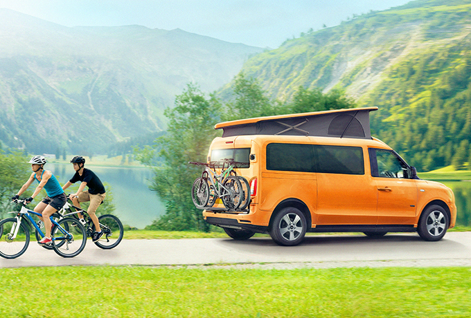 The campervan is the perfect way to explore the great outdoors