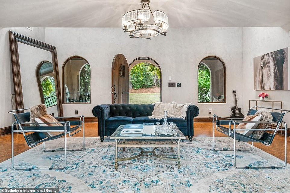 cobra kai mainsion living room