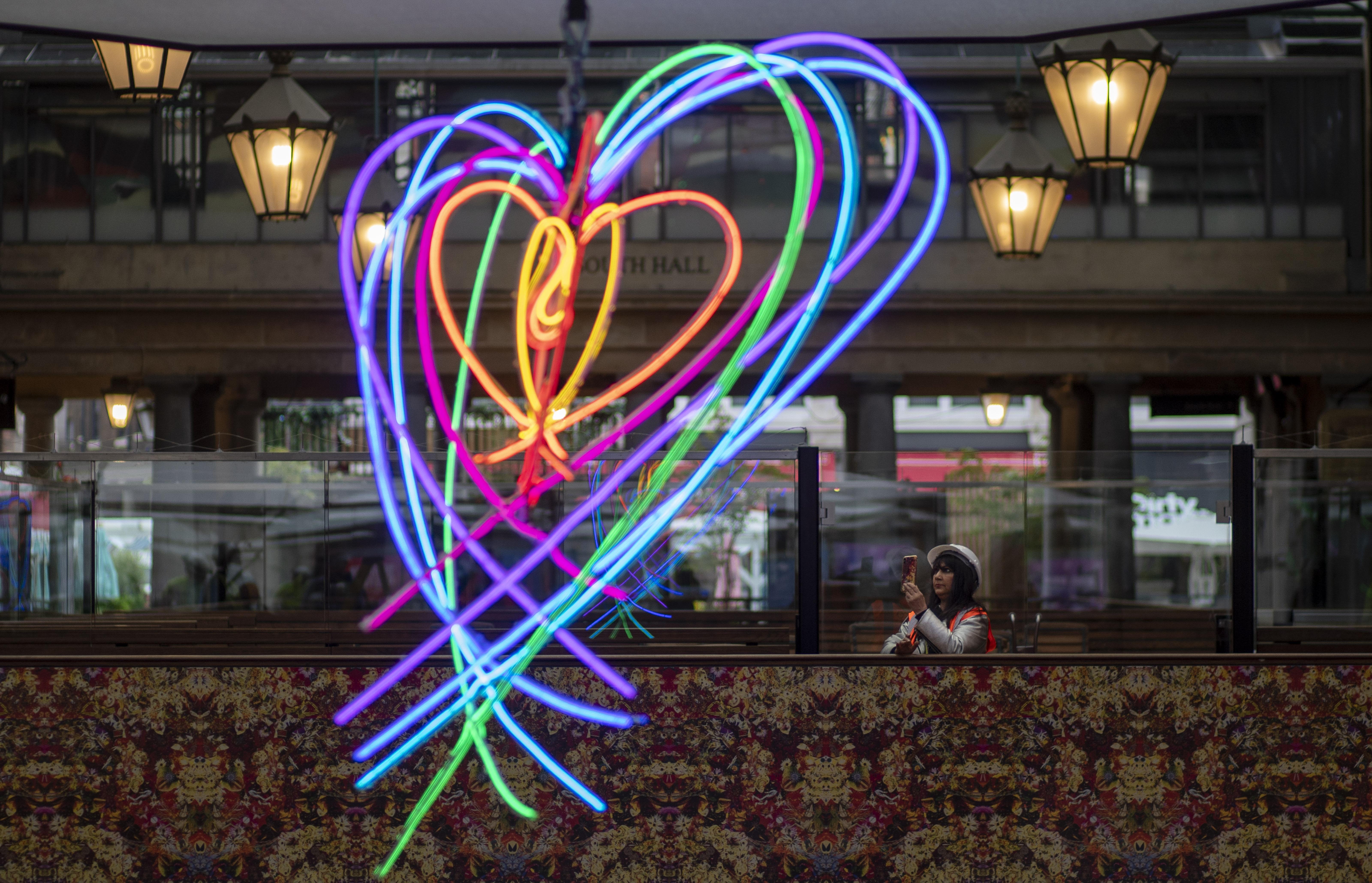 Covent Garden neon