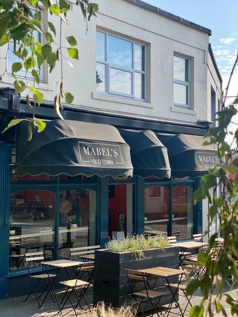 Mabel's shop front