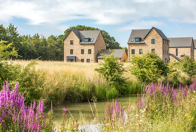 Homes at Swindon's Wichelstowe up for national award