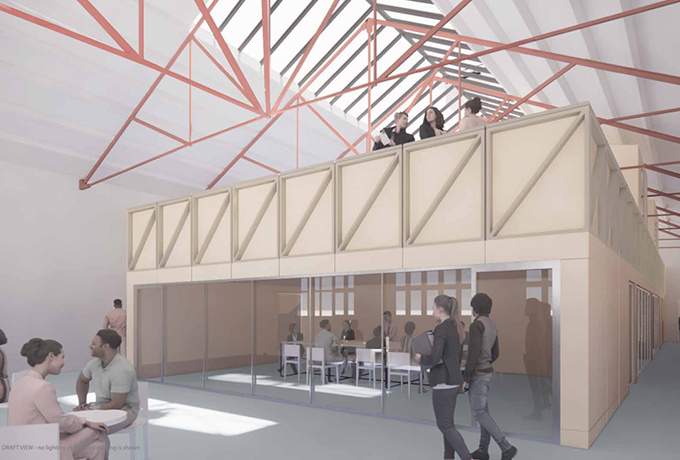 Plans submitted for Carriage Works in the heart of Swindon