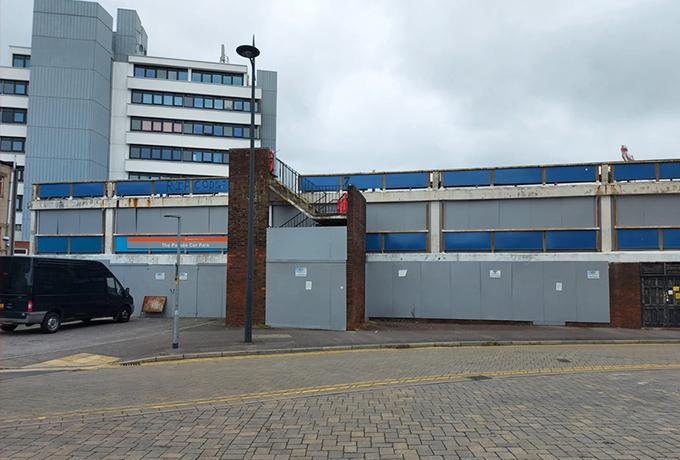Fleming Way rejuvenation underway with car park demolition