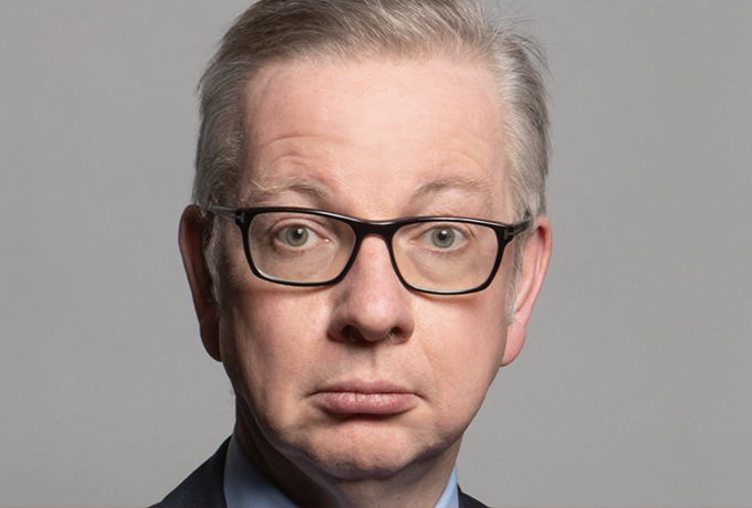Michael Gove appointed as new housing secretary