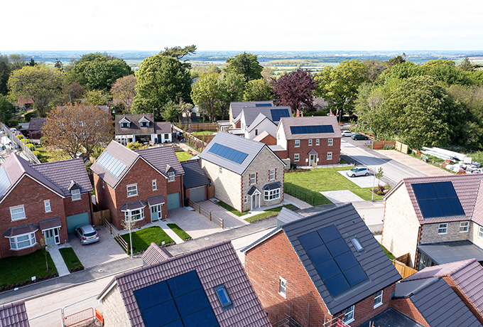 Christmas is scarily close says Broad Blunsdon house builder