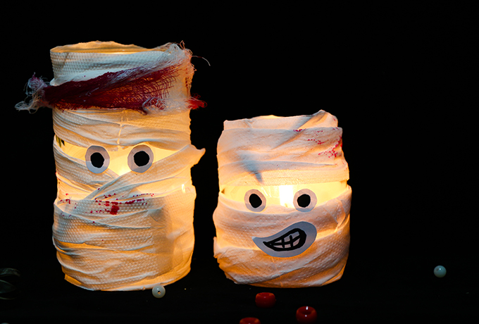 Halloween crafts for the kids this half term with The Magical Mummy